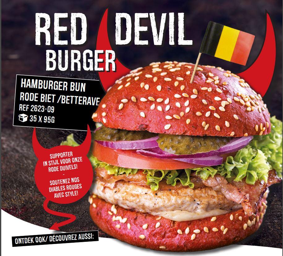 duivels hamburgerbroodje